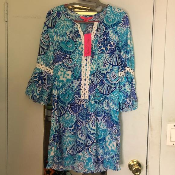 fbbadad044a Lilly Pulitzer Dresses   Nwt Hollie Tunic Dress   Poshmark